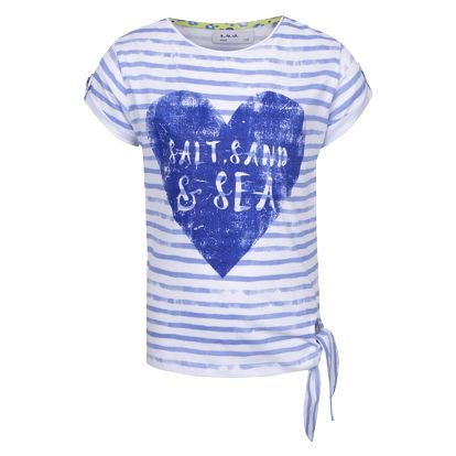 Modro-bílé holčičí pruhované tričko 5.10.15.