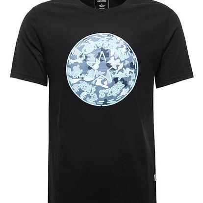 Pánské tričko Converse Neon CP camo fill tee černé S
