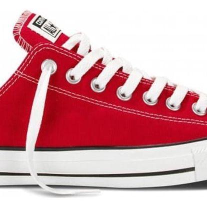 Nízké boty Converse CHUCK TAYLOR ALL STAR Core Red 44