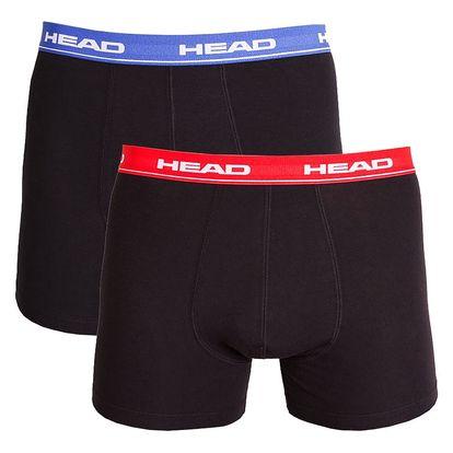 Pánské boxerky HEAD red blue XL