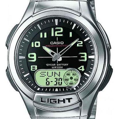 Casio AQ 180D-1B + nůž, pojištění hodinek, doprava ZDARMA, záruka 3 roky