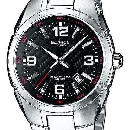 Casio EF 125D-1A + nůž, pojištění hodinek, doprava ZDARMA, záruka 3 roky