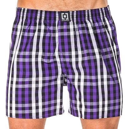 Pánské Trenky Horsefeathers Sin Boxer Shorts Deep Violet S