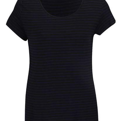 Tmavě modré tričko Jacqueline de Yong Spirit