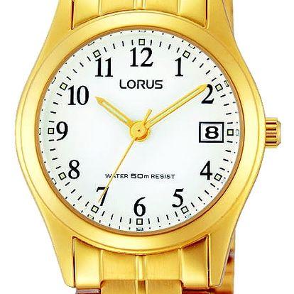 Lorus RH766AX9 + nůž, pojištění hodinek, doprava ZDARMA, záruka 3 roky