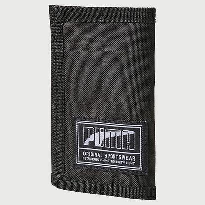 Peněženka Puma Academy Wallet Black Černá