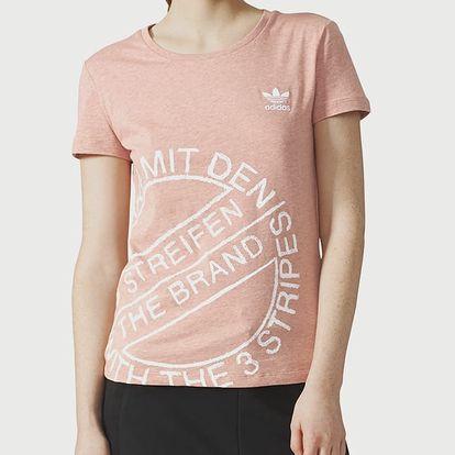 Tričko adidas Originals T-SHIRT Béžová