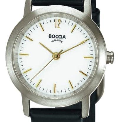 Boccia Titanium 3170-02 + nůž, pojištění hodinek, doprava ZDARMA, záruka 3 roky