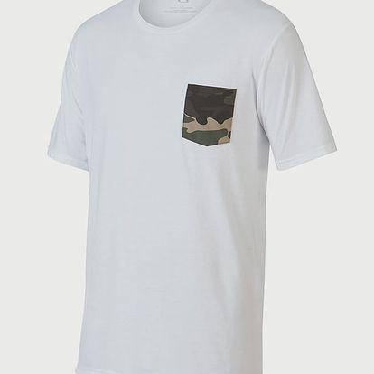 Tričko Oakley 50-Camo Pocket White Barevná