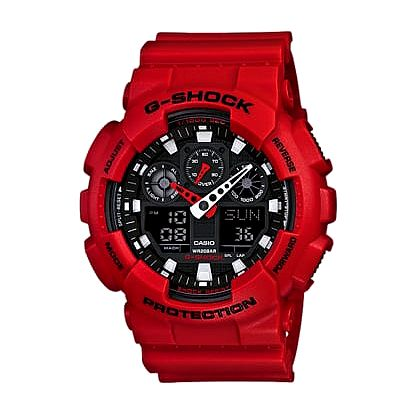 Casio GA 100B-4A + nůž, pojištění hodinek, doprava ZDARMA, záruka 3 roky