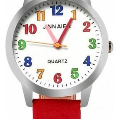 Dětské jednoduché hodinky - 6 barev
