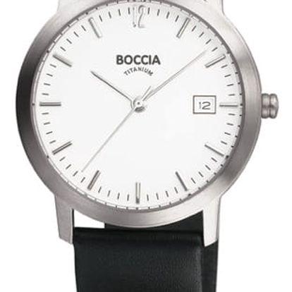 Boccia Titanium 510-93 + nůž, pojištění hodinek, doprava ZDARMA, záruka 3 roky