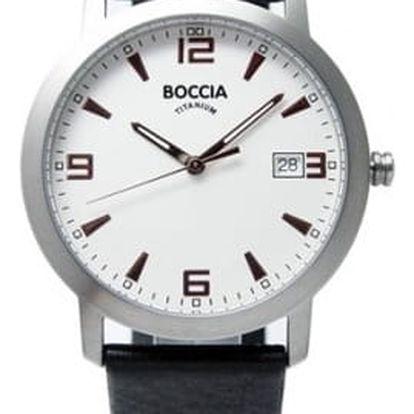 Boccia Titanium 3544-02 + nůž, pojištění hodinek, doprava ZDARMA, záruka 3 roky