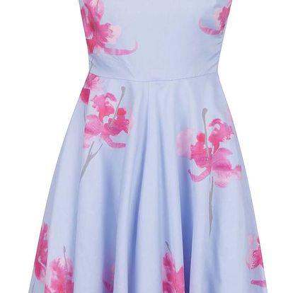Modré dámské květované šaty Tom Joule Amelie