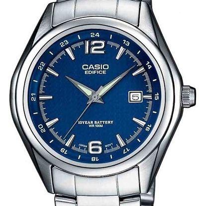 Casio EF 121D-2A + nůž, pojištění hodinek, doprava ZDARMA, záruka 3 roky