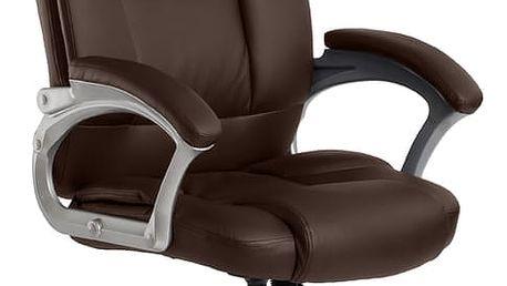 ADK Trade s.r.o. Kancelářská židle ADK Denver, hnědá