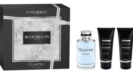 Boucheron Quatre homme Toaletní voda pro muže Dárkový set XMAS