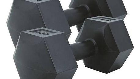 Činky Spokey Monster 2 x 6 kg, vinylové černé