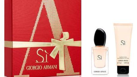 Giorgio Armani Sí Parfémová voda pro ženy Dárkový set XMAS