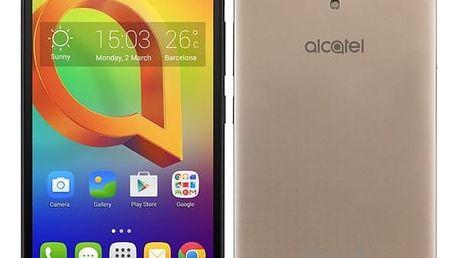 Mobilní telefon ALCATEL A2 XL 8050D Dual SIM (8050D-2GALE1L) zlatý