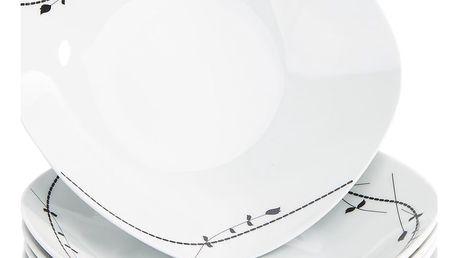 Domestic 6dílná sada hlubokých talířů Londra, 21,5 cm