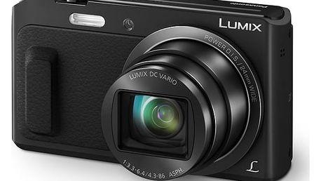 Digitální fotoaparát Panasonic DMC-TZ57EP-K černý + DOPRAVA ZDARMA