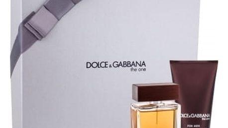 Dolce&Gabbana The One For Men dárková kazeta pro muže toaletní voda 50 ml + balzám po holení 75 ml
