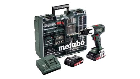 Aku vrtačka Metabo SB18LT MD 2x2,0Ah 1-13m zelená + DOPRAVA ZDARMA