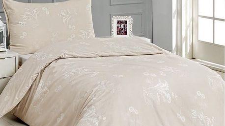 BedTex Saténové povlečení Suruk, 140 x 200 cm, 70 x 90 cm