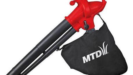 Vysavač listí MTD BV 2500 E + Doprava zdarma