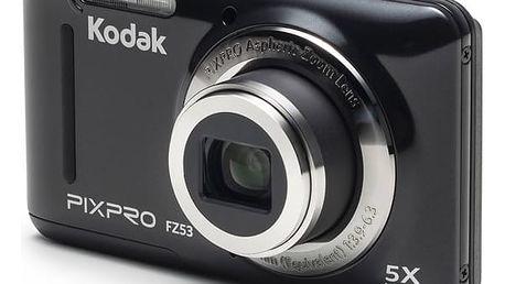 Digitální fotoaparát Kodak FZ53 (819900012231) černý