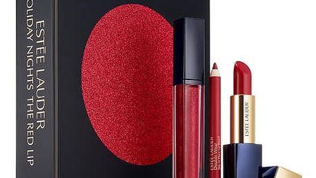 Estée Lauder Nights Red Lips Dárkový set XMAS