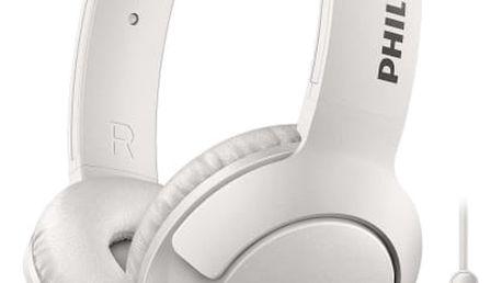 Sluchátka Philips SHL3075WT (SHL3075WT/00) bílá