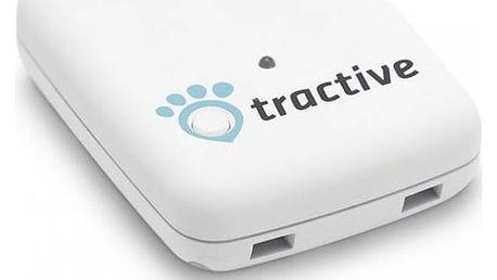 GPS lokátor Tractive tracker pro domácí zvířata bílý + Doprava zdarma