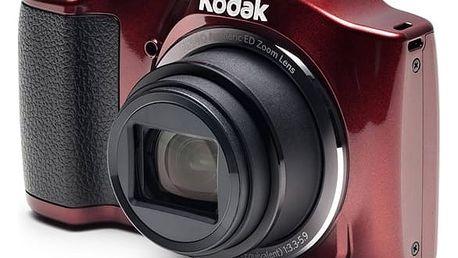 Digitální fotoaparát Kodak FZ152 (819900012316) červený