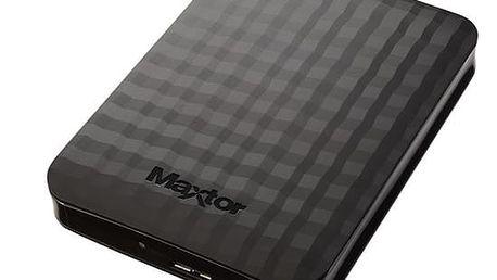 """Externí pevný disk 2,5"""" Maxtor M3 Portable 500GB (STSHX-M500TCBM) černý"""