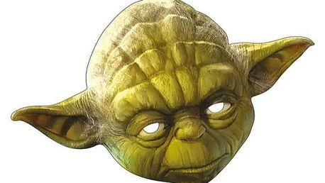 Yoda - kartonová maska