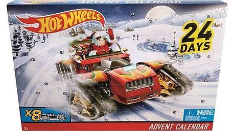 Hot Wheels Mattel Adventní kalendář + Doprava zdarma