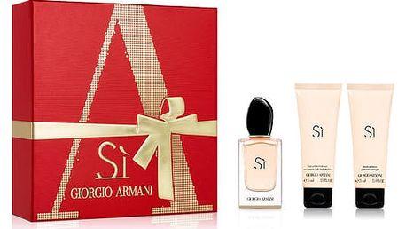 Giorgio Armani Sí Parfémová voda pro ženy 50 ml Dárkový set XMAS