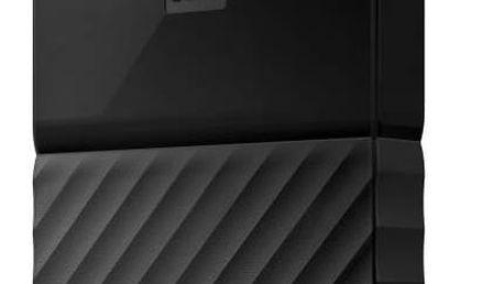 "Externí pevný disk 2,5"" Western Digital My Passport 1TB (WDBYNN0010BBK-WESN) černý + Pouzdro na HDD Western Digital My Passport, černý v hodnotě 149 Kč + Doprava zdarma"
