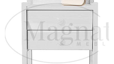 Noční stolek Idea - bílá