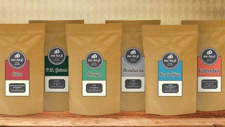 Poukaz na výběrovou kávu z české pražírny