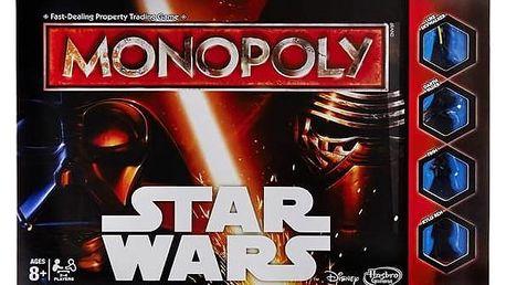 Hra Hasbro Monopoly Star Wars CZ + Fidget Spinner Esperanza modrý v hodnotě 39 Kč + Doprava zdarma