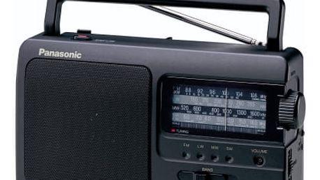 Radiopřijímač Panasonic RF-3500E9-K