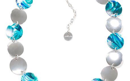 Desigual tyrkysový náhrdelník Split