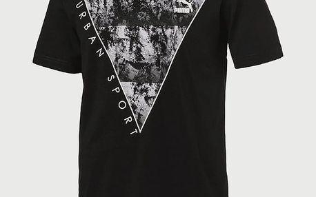 Tričko Puma Brand Plus Tee Black Černá
