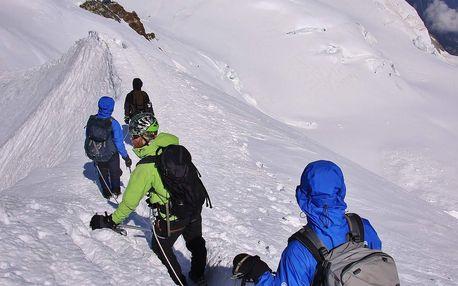 Francie, výstup na Mont Blanc 'zájezd expedice, trek' - prodloužení o Monte Rosa, autobusem, bez stravy