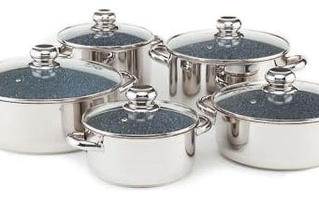 KOLIMAX CERAMMAX PRO STANDARD sada nádobí 10 dílů, granit šedá