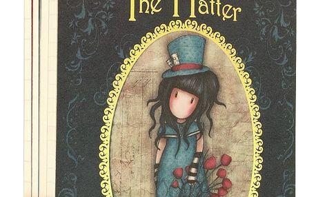 Sada 4 zápisníků Santoro London Chronicles Bag Of Books