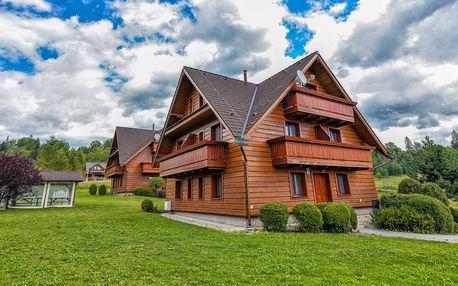 Resort Levočská Dolina ve Slovenském ráji s wellness a polopenzí